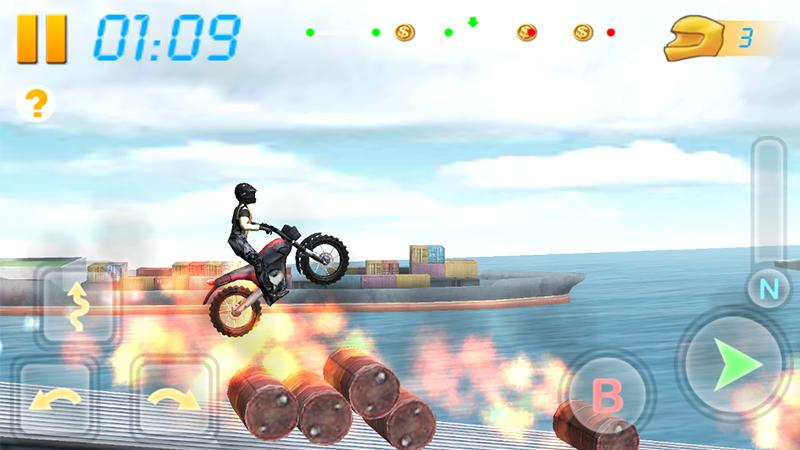 Screenshots of Bike Racing 3D for iPhone