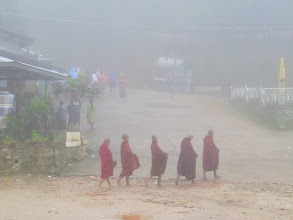 Photo: Year 2 Day 59 - Monks in the Mist