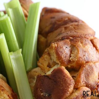Buffalo Chicken Pull-Apart Bread