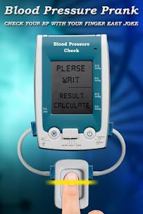Fingerprint Blood Pressure Checker Prank - náhled