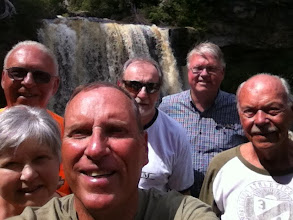 Photo: Some of us hiked to the bottom of Blackwater Falls.