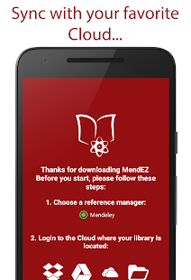 MendEZ. Mendeley, Everywhere!- screenshot thumbnail
