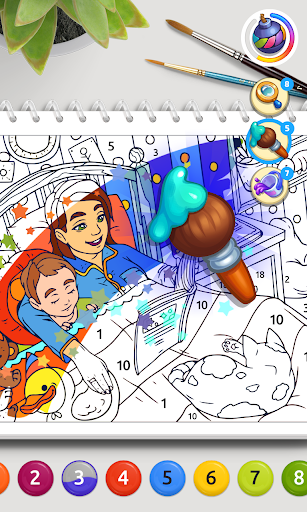 Color Stories: coloring casino & paint art gallery  screenshots 2