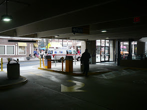 Photo: Entrance to Isham St Garage