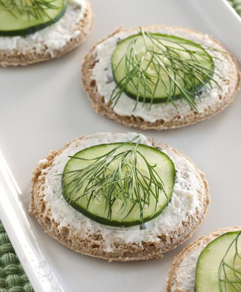 Cucumber Dill Rounds Recipe