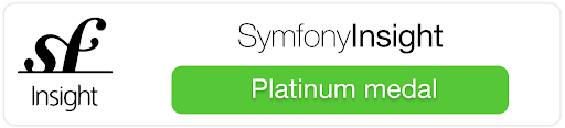 Sensiolabs Insight Platinum Medal