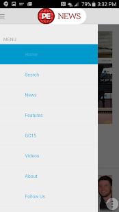 PE News screenshot