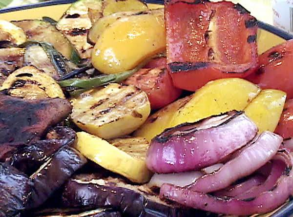 Grilled Veggies With Feta Recipe