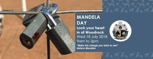 Mandela Day 2018 - Lock in your heart at Woodrock : Woodrock Animal Rescue