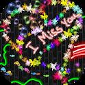 Glow draw art - Doodle magic icon