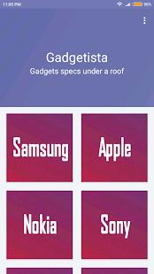 Gadgetista - náhled