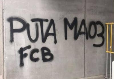Les fans du Club de Bruges se sont vengés après les graffitis anderlechtois aux abords du stade