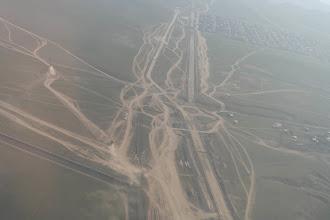 Photo: Ruchliwe rondo w Mongolii