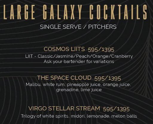 Helix- The Celestial Bar menu 5