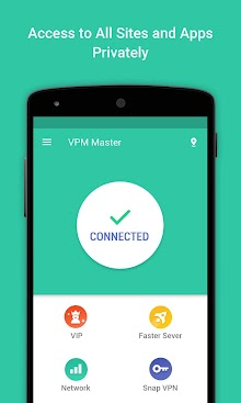 VPN Proxy Master-Free security screenshot 1