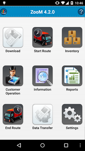 ZooM Mobile SFA App