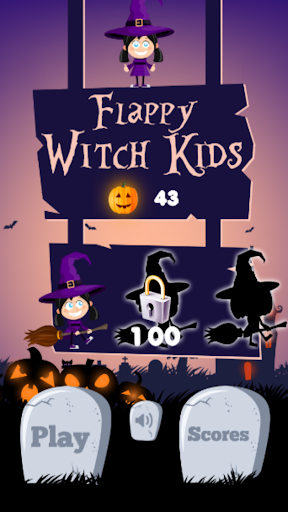 Flappy Witch for Kids