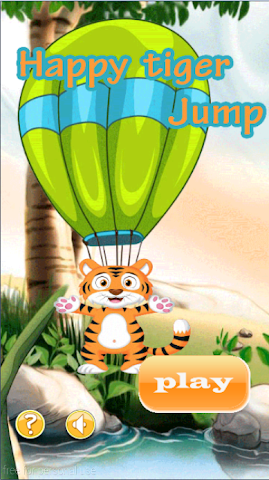 android Happy Tiger Jump Screenshot 0