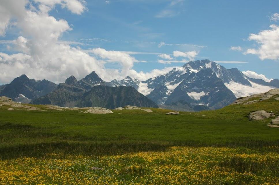 Mama w Alpach: Monte Disgrazia
