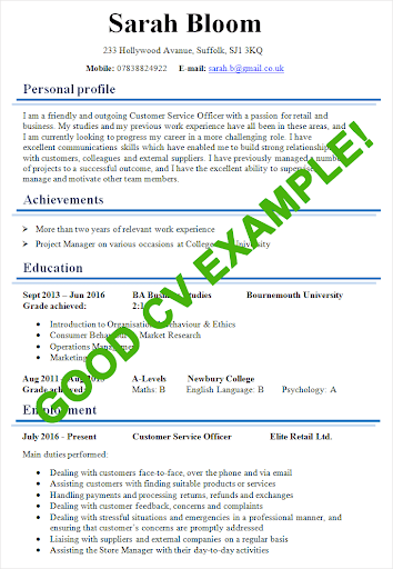 CV Samples 2019 4.0 androidtablet.us 2