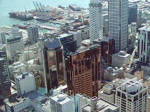 Photo: Auckland is New Zealand's only city with very tall buildings.  New Zealand, unlike Australia, is in a significant earthquake zone and buildings must be designed accordingly.