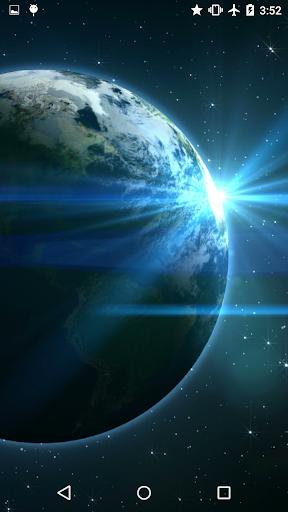 Earth In Space Video Wallpaper