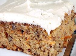 Carrot Cake With Character Recipe