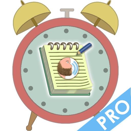 Recurring task reminder + Speaking alarm PRO