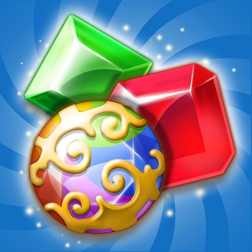 Jewels Island : Match-3 Puzzle Icon