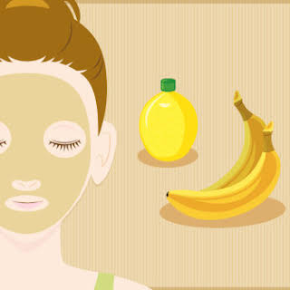 Nourish Tired Skin With This Homemade Banana Face Mask.