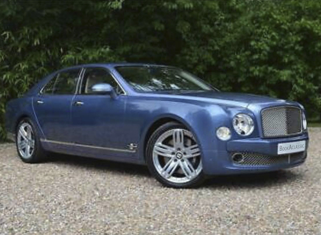 Bentley Mulsanne Hire Leicestershire