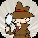 探偵の推理力 - 脳トレ洞察力診断 icon