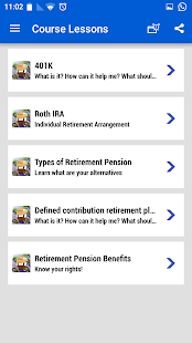 Retirement plans 401k IRA roth- screenshot thumbnail