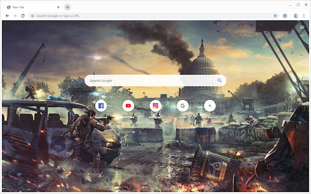 New Tab - Tom Clancy's The Division 2