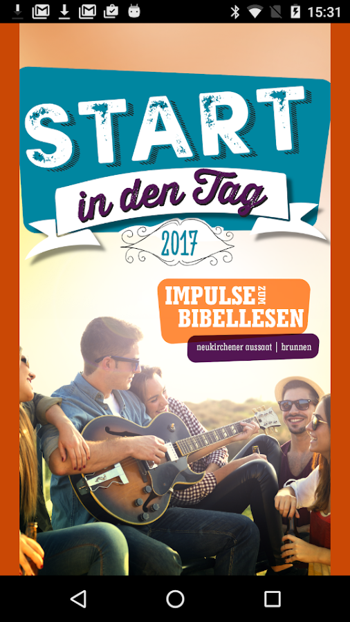 Start in den Tag 2017- screenshot