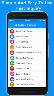 Train Seat Availability - Indian Railway- screenshot thumbnail