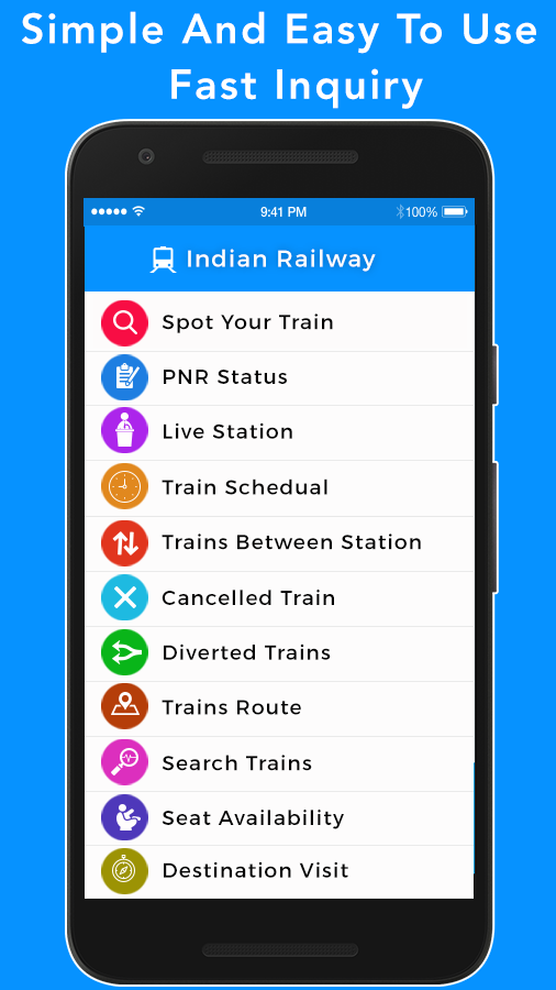 Train Seat Availability - Indian Railway- screenshot