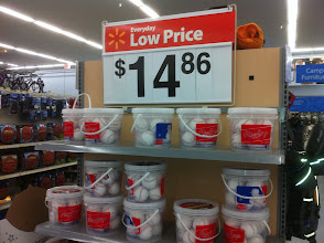 Photo: Here is a great big bucket of balls at a great low price!