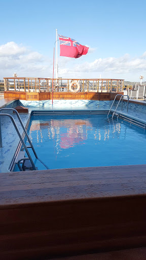 Queen-Victoria-Lido-Pool - The Lido Pool on Queen Victoria is more subdued than on many cruise ships.