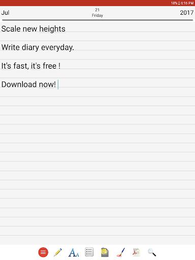 Diary 6.0 screenshots 14
