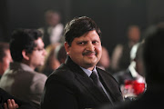 Atul Gupta at the launch of ANN7 news channel on August 21, 2013, in Johannesburg.