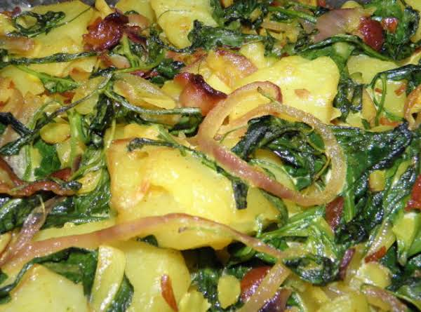 Potatoes With Almonds Recipe
