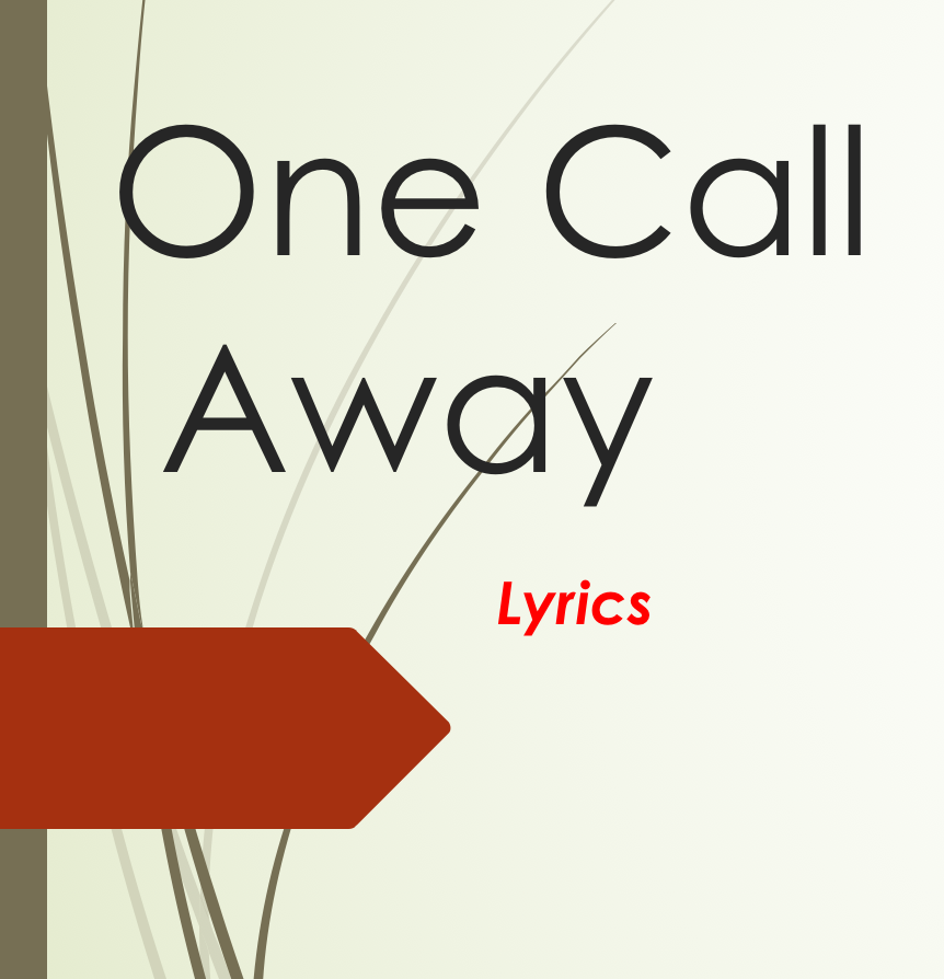 Lyric come away with me lyrics : One Call Away Lyrics - Android Apps on Google Play