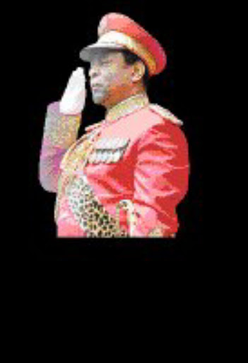 MONARCH CHALLENGE: King Goodwill Zwelithini. © Unknown.