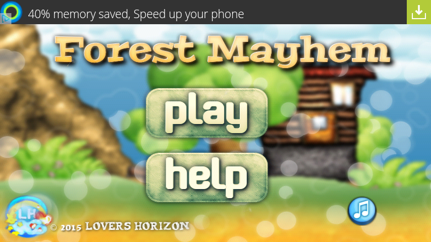 Forest Mayhem- screenshot