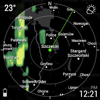 InstaWeather for Android Wear Android 14