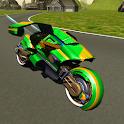 Flying Motorbike Stunt Rider icon