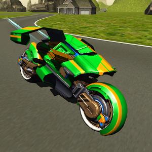 Flying Motorbike Stunt Rider Gratis