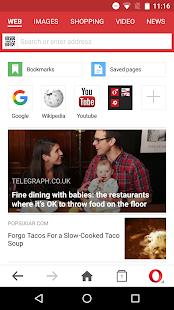 Opera Mini browser beta- screenshot thumbnail