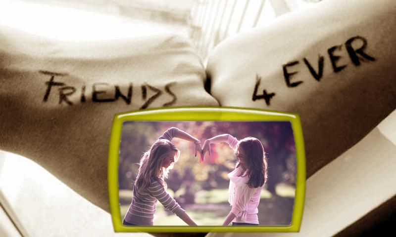 friendship frames photo editor screenshot